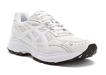 Asics Gel-Foundation Walker Mens Wt/Wt/Sil Q110L-0101