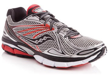Saucony Hurricane 15 Mens Sil/Red/Blk 20178-1