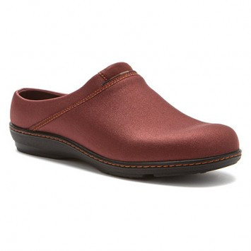 Aetrex Cranberry clog Be18wm11